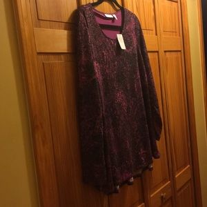 A pretty purple blouse with a lining - never worn